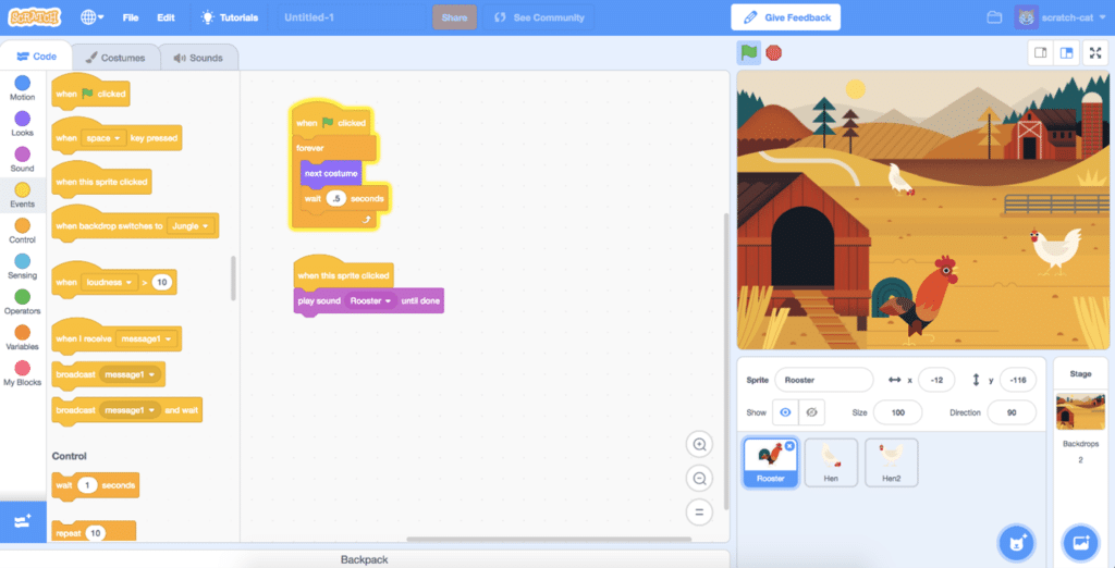C101 - Introduction to Scratch