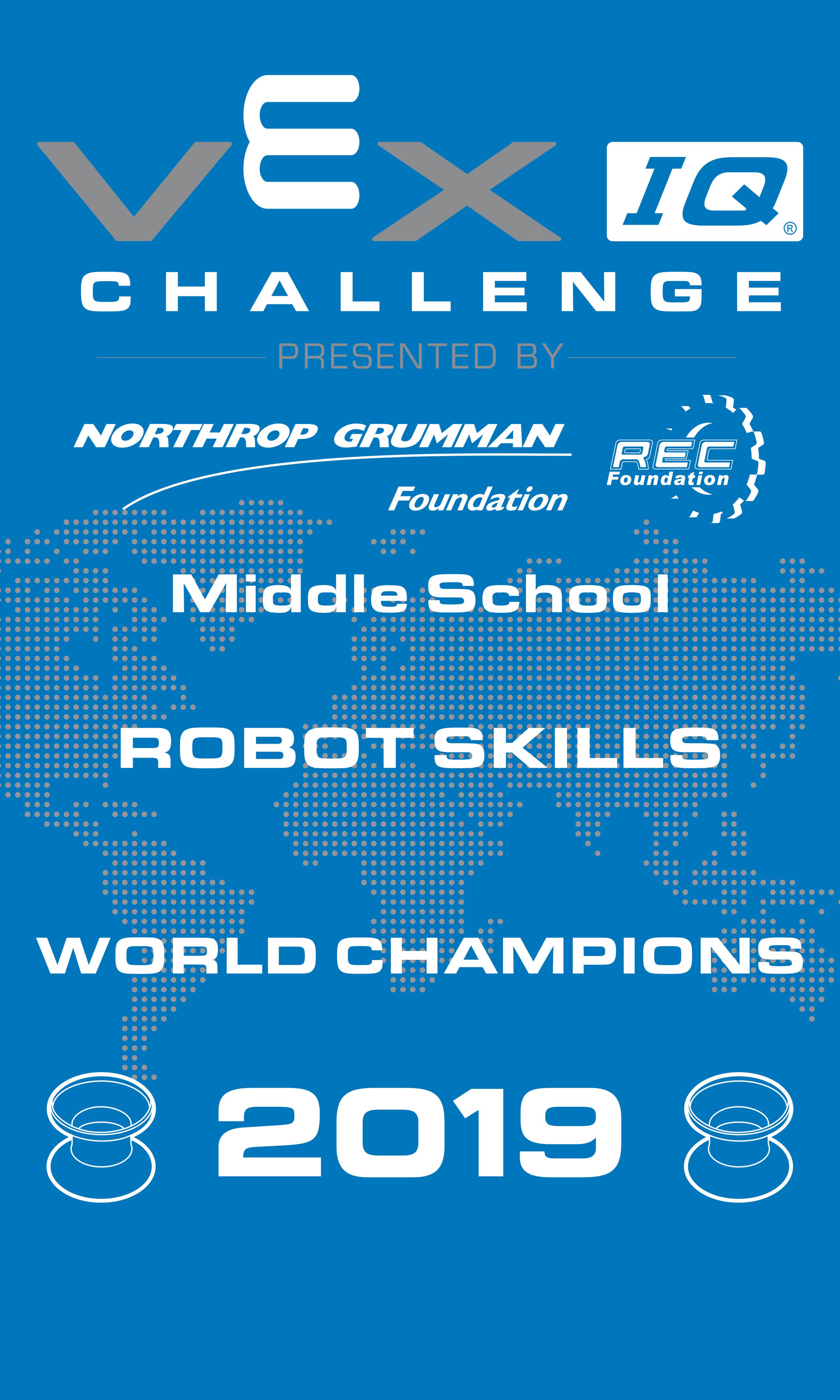 Robot Skills Challange Champion – Middle School_rev3